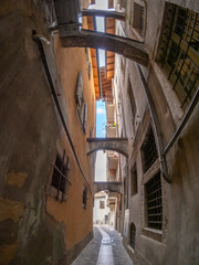 Trento Vicolo dei dall'Armi - Weapon street medieval alley