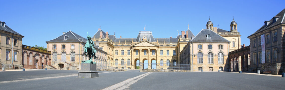Historic Castle of Luneville in Lorraine, France