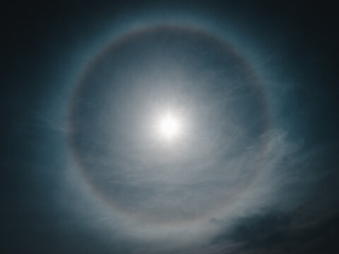 Halo by the Sun