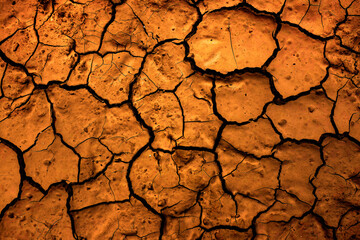 Cracked Dry Dirt Earth Drought Broken Ground
