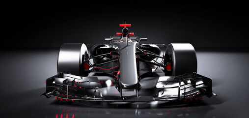 Fast F1 car. Formula one racing sportscar.
