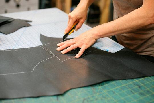 At he shoemakers studio