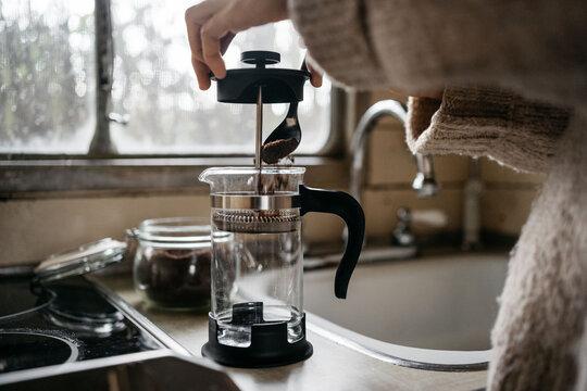French press coffe maker