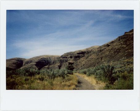 A Hiking Trail in the High Desert