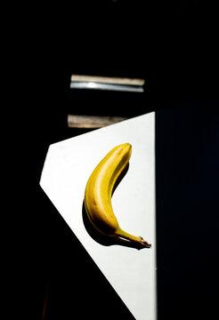 A still life, Banana.