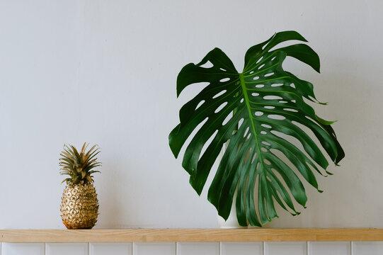 Banana and Leaf