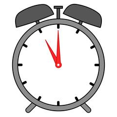 Uhr Wecker Vector Grafik