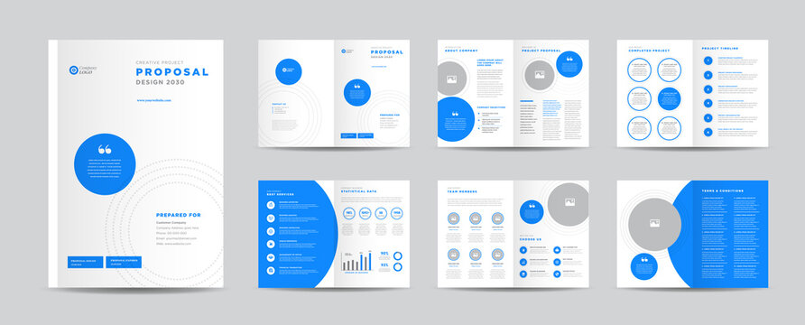 Corporate Business Project Proposal Design   Annual Report and Company Brochure   Booklet and Catalog Design