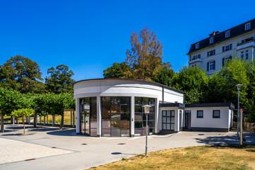 Kurpark, Bad Schwalbach, Taunus, Deutschland