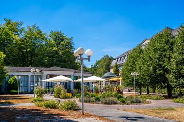 Kurpark, Schlangenbad, Deutschland