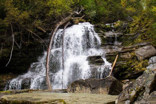 Autumn Bijoux Falls BC Canada