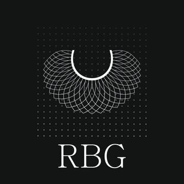 Lace RBG background, banner, poster, sticker, t-shirt design