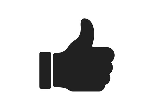 approval, excellent, very good icon. thumb up symbol. web design sign