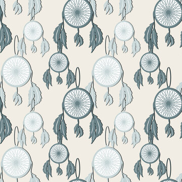 lucky seamless pattern