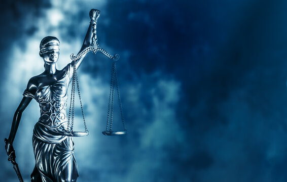 Legal law concept image Scales of Justice.
