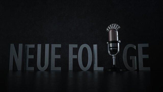 Mikrofon Podcast Neue Folge