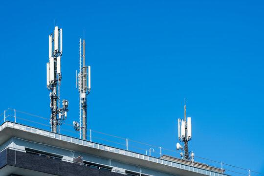 Antennenstation für Richtfunk