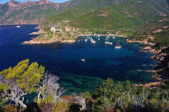 Girolata, en Corse