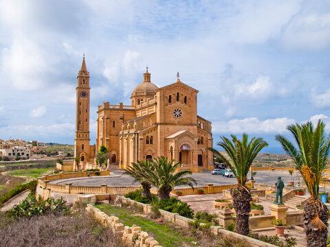 Basilica of the National Shrine of the Blessed Virgin of Ta' Pinu, Gozo, Malta