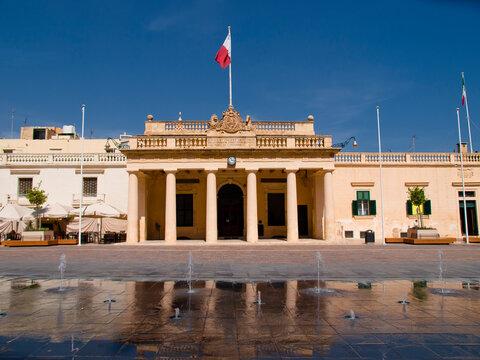 The Main Guard and St. George's Square, Valletta, Malta