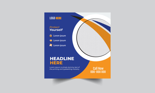 Social Banner for Healthcare or Agency and business company
