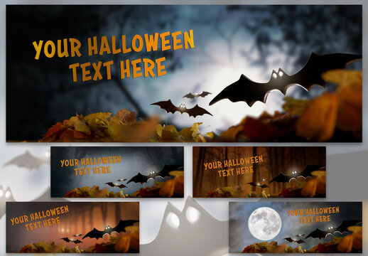 Halloween Card Mock Up