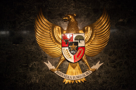 Eagle Coat Of Arms On Wall