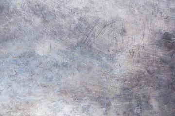 Fotobehang - Metal old background.Scratched grunge steel texture.