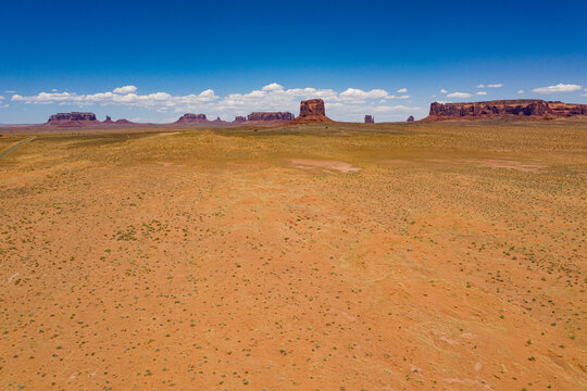Monument Valley Navajo Tribal Park. USA