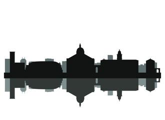 padua city skyline in italy Fototapete