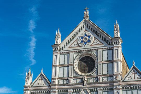 1856  Florenz - Basilica di Santa Croce di Firenze