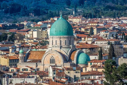 1878 Florenz - Sinagoga e Museo Ebraico