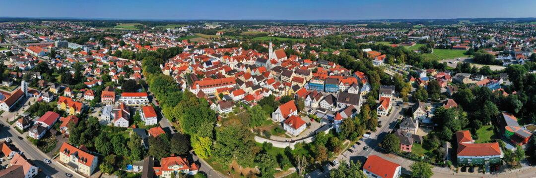 Luftbild von Schrobenhausen