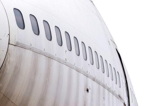 Old crashed plane.