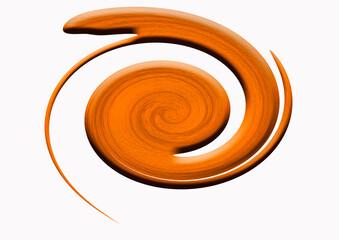 spirale decoration bois