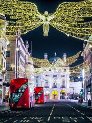 London Christmas Red Bus