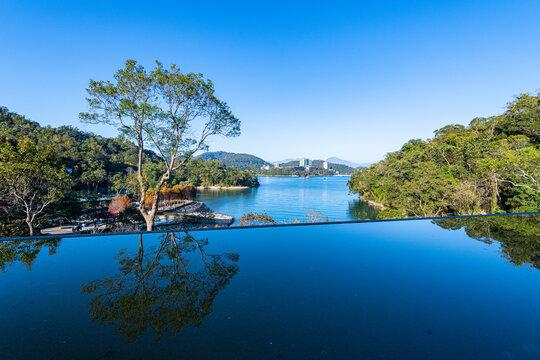Xiangshan Scenic Outlook, Sun Moon Lake, National Scenic Area, Nantou county, Taiwan