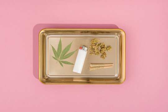 Pre-Rolled Joints, Weed, and Cannabis