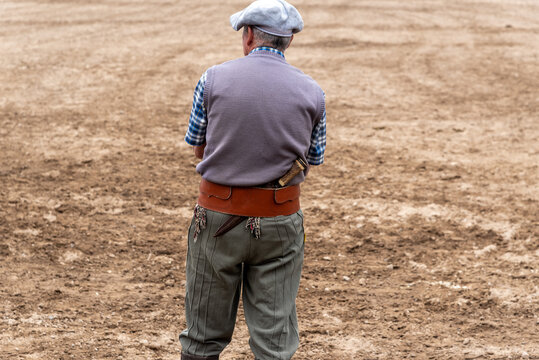 Gaucho on the field