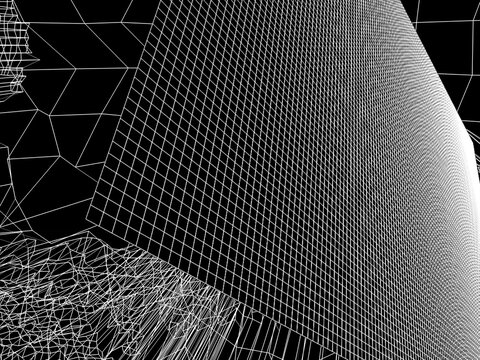 Digital Future Lines And Grid
