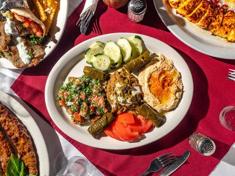 Upscale Mediterranean Food