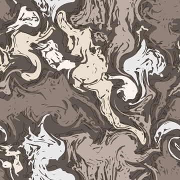 Seamless Pattern with Marble Texture.