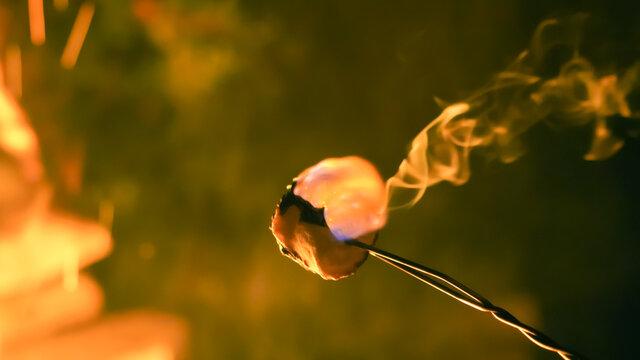 Smores marshmallow