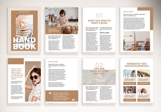 Book Design for Online Course Layout