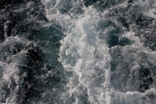 The sea waves, summer at sea