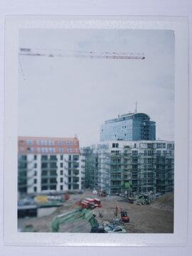 Building up a city.