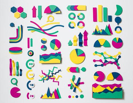 Paper statistics charts