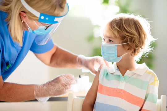 Coronavirus vaccination. Covid-19 vaccine.