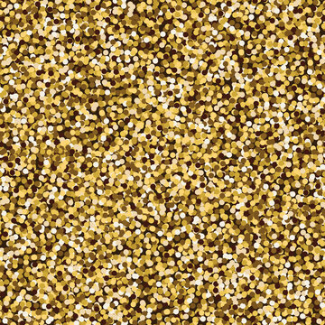 Seamless Pattern with Gold Effect.