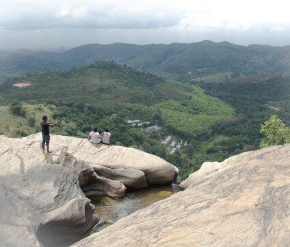 Sri Lanka Wasserfall
